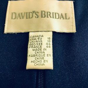 David's Bridal Dresses - Women's David's Bridal Navy Blue dress